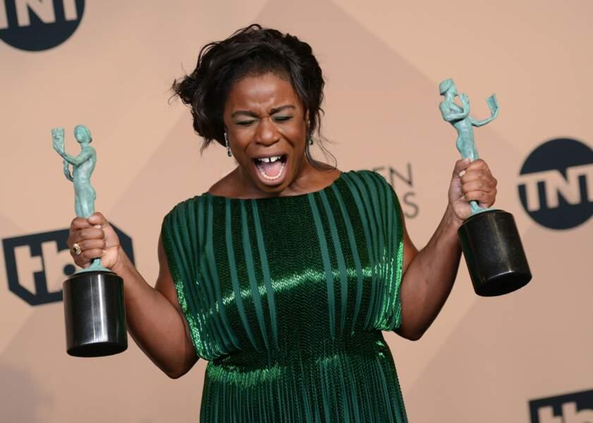 Meilleure actrice dans une série comique : Uzo Aduba (Orange is the New Black)
