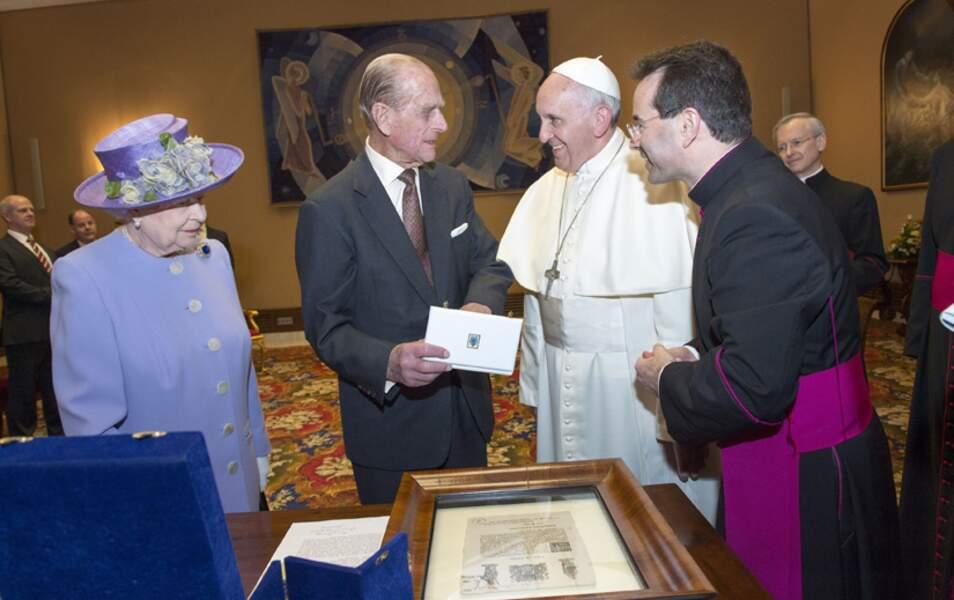 Entre l'église anglicane et l'église catholique, les relations sont au beau fixe !