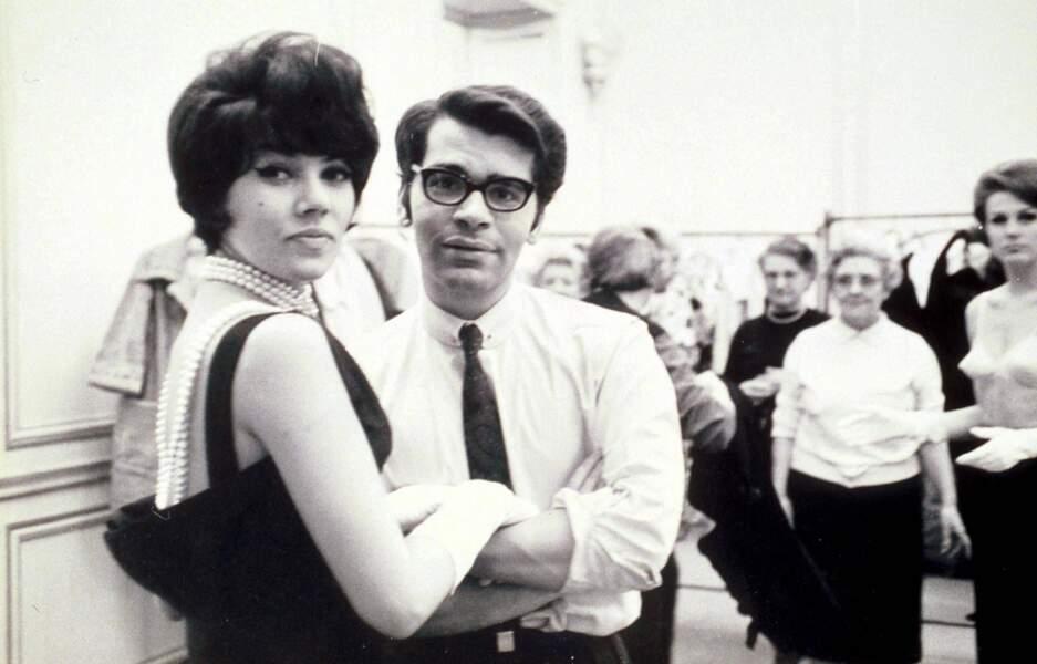L'évolution physique de Karl Lagerfeld : le créateur en 1967