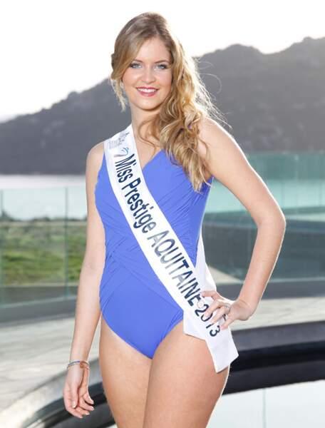 Julie DECES, Miss Prestige Aquitaine