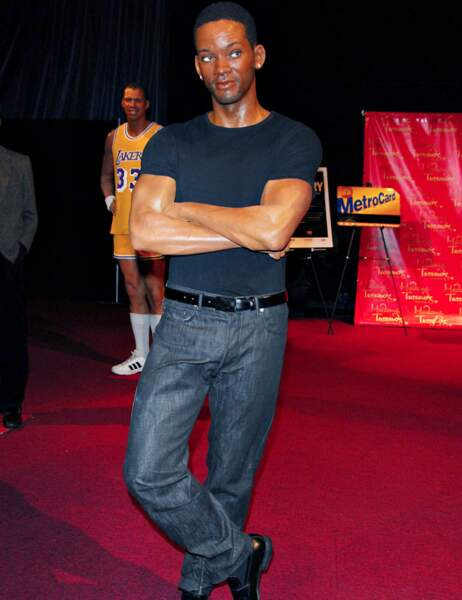 Will Smith au Madame Tussauds de New York