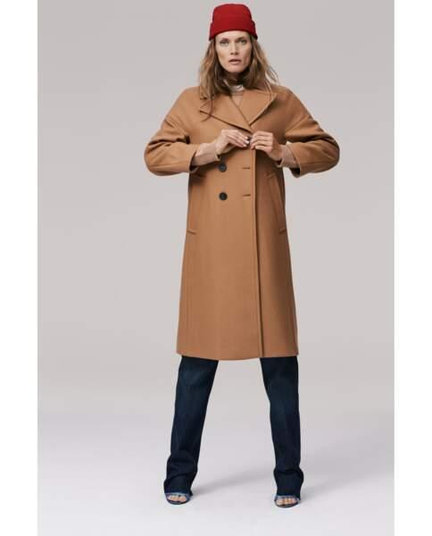 Zara : Manteau long XL, 89,99 euros au lieu de 139 euros