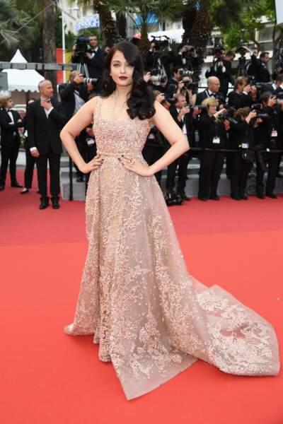 Aishwarya Rai toujours aussi magnifique