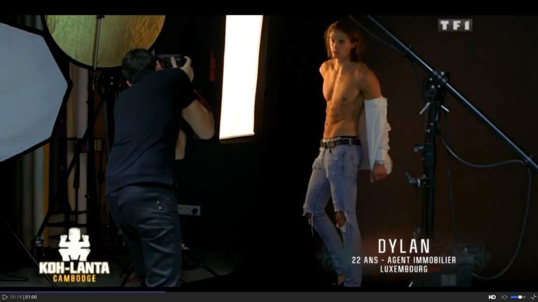 Mais Dylan est aussi mannequin !