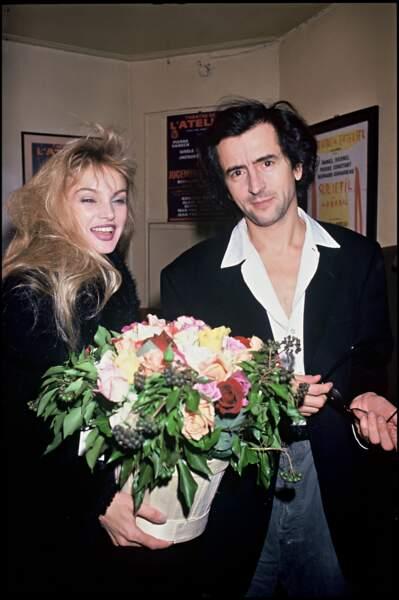 Arielle Dombasle et Bernard-Henri Levy en couple depuis 1992
