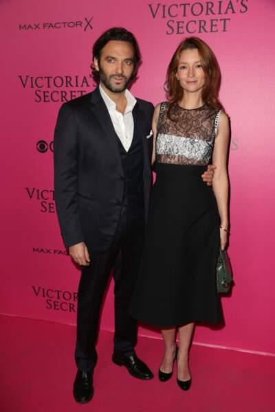 Défilé Victoria's Secret : Audrey Marnay et son mari Virgile Bramly