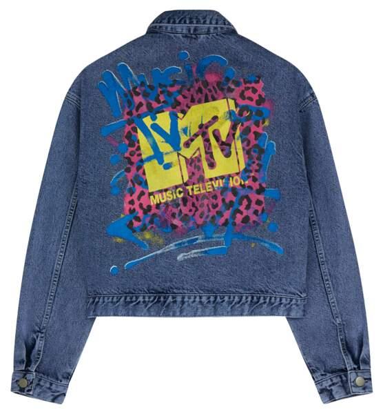 ASOS x MTV : veste jean homme