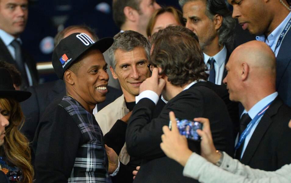 Nagui qui, contrairement au commun des mortels n'est pas fasciné par Jay Z, mais par Xaviel Niel, boss de Free