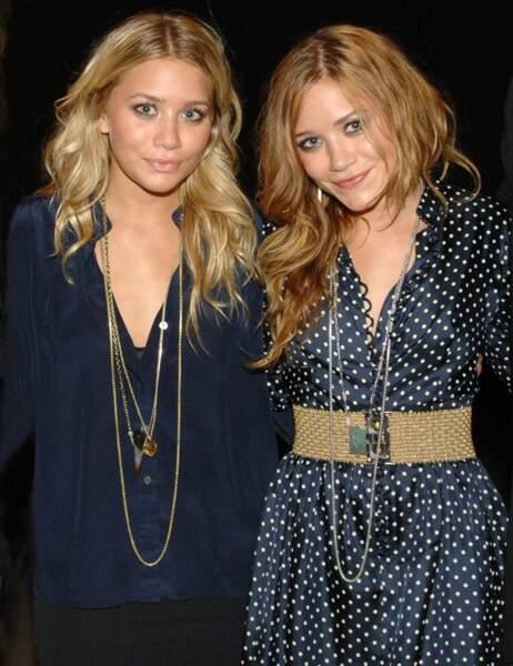 Ashley et Mary-Kate Olsen sont...