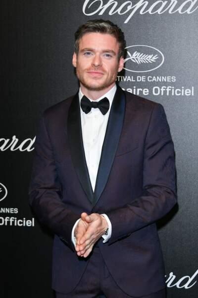 Richard Madden lors de la soirée Chopard organisée au festival de Cannes le 17 mai 2019