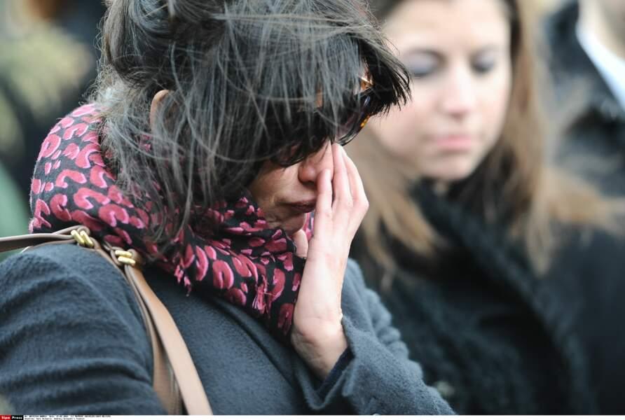 Sophie Marceau, submergée par l'émotion lors de l'adieu à Andrzej Zulawski