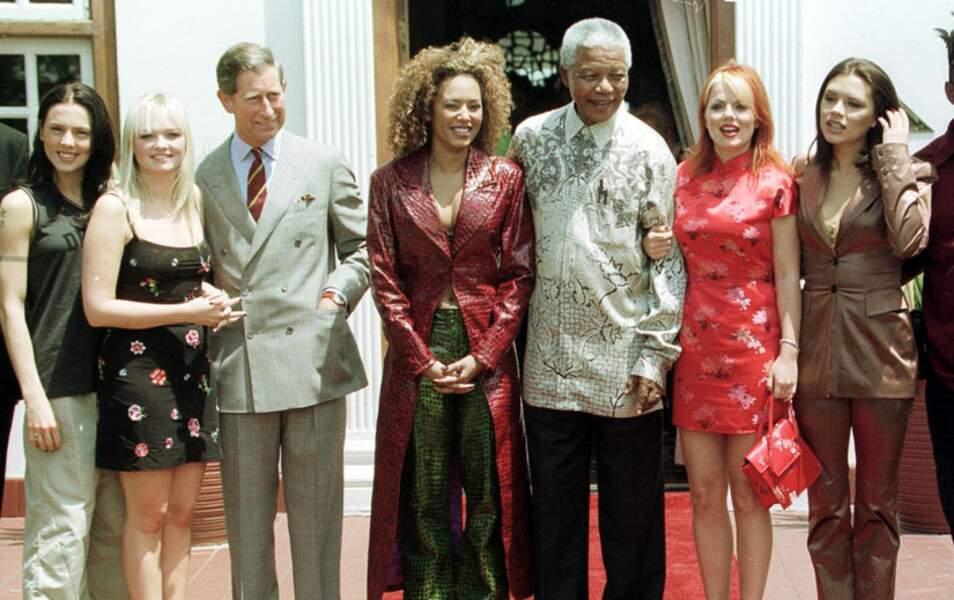 Rencontre improbable, avec le prince Charles et... les Spice Girls !