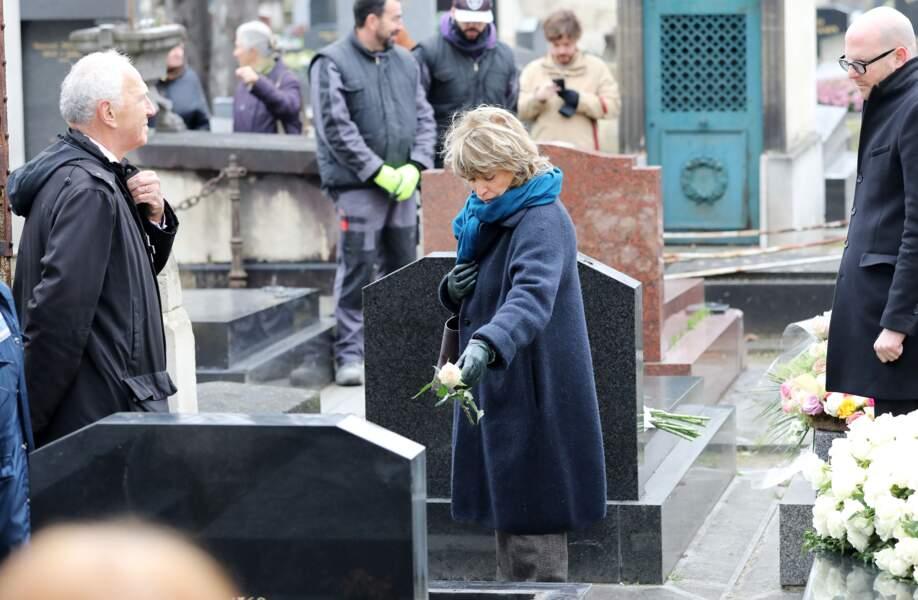 Obsèques de Michèle Morgan - Danièle Thompson