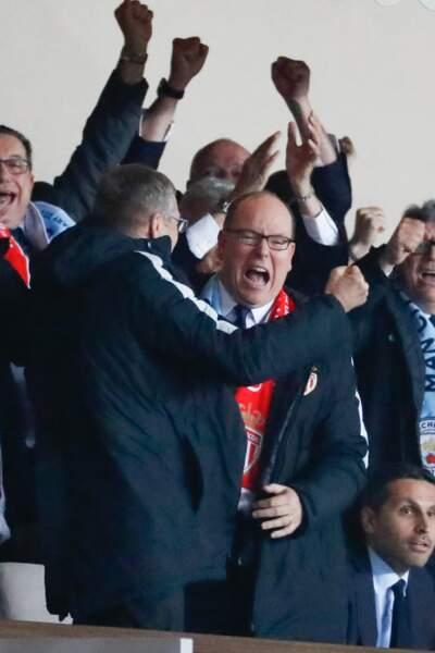 AS Monaco vs Manchester City : éruption de joie en tribune, à commencer par le Prince Albert