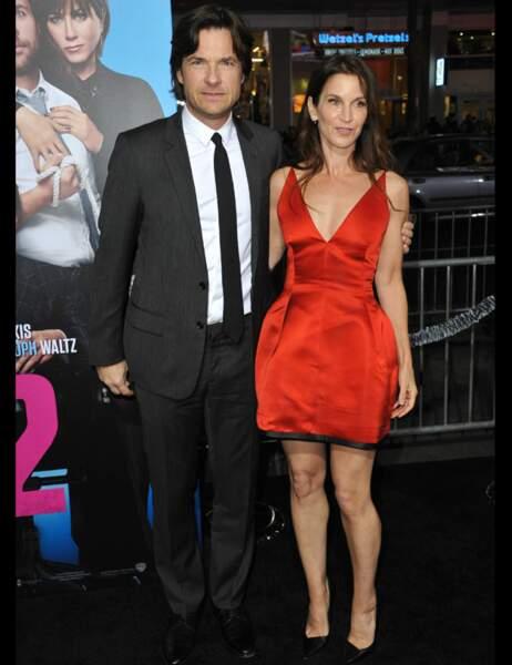 L'acteur Jason Bateman et sa femme Amanda Anka toujours très amoureux