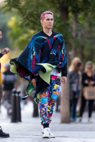 Jared Leto : Fashion week, sors de ce corps !