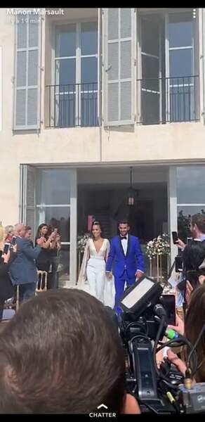 """Julien Tanti et Manon Marsault se sont dit """"oui"""""""