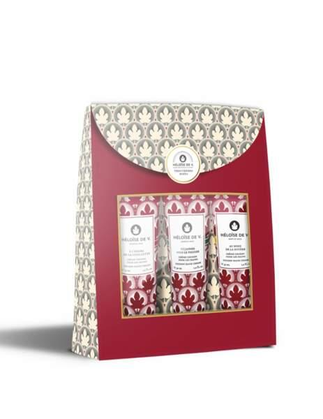 Cadeaux de fête des mères : coffret trio de crèmes pour les mains, Héloïse V. sur Delafrance.com, 29€