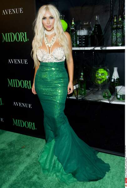Le meilleur et le pire des costumes d'Halloween des people - Kim Kardashian