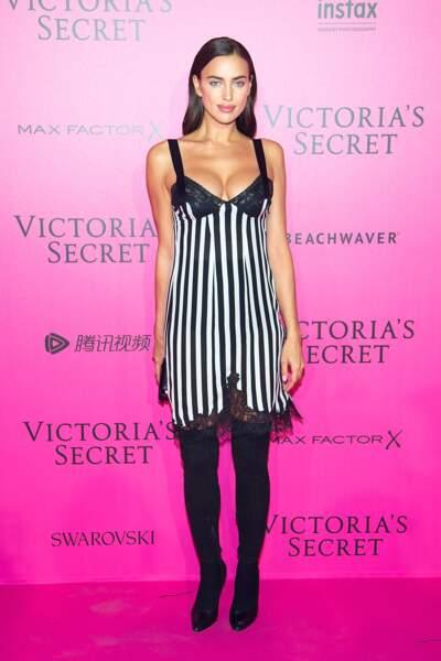 Défilé Victoria's Secret : Irina Shayk, qui est enceinte de son premier enfant avec Bradley Cooper !