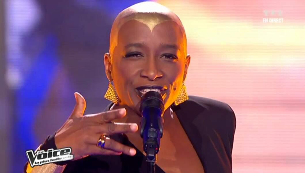 Dominique Magloire, star de la comédie musicale Cléopâtre, est allée loin dans la compétition en 2012