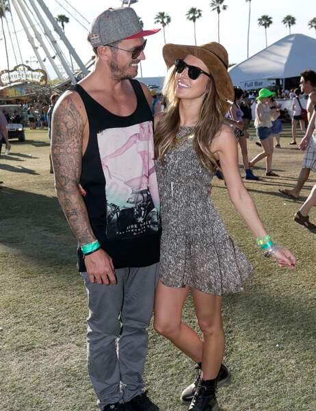 Le top model Audrina Patridge et son petit ami Corey Bohan