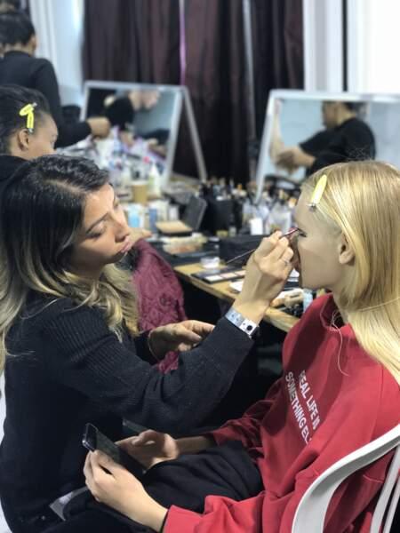 Fashion Week femme : dans les backstages du défilé Guy Laroche