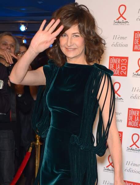 Valérie Lemercier, deuxième ex aequo avec 800 000 euros