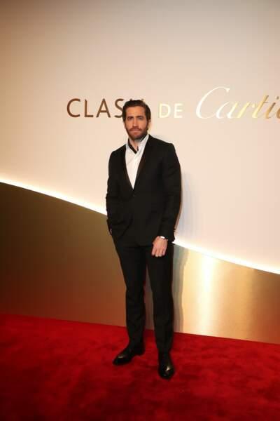 Jake Gyllenhaal au dîner Cartier, le 10 avril 2019 à la Conciergerie de Paris