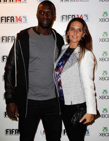 Omar Sy était quand même venu avec Hélène, sa femme