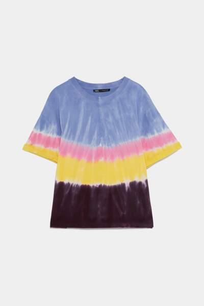 T-shirt tie and dye, Zara, 15,95€