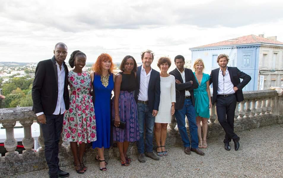 Le jury de la 7ème édition du festival d'Angoulême
