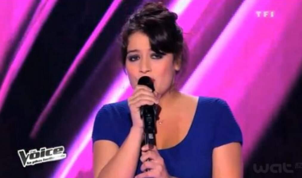 Nell, la fille d'Yves Régnier, est passée aux auditions en 2013