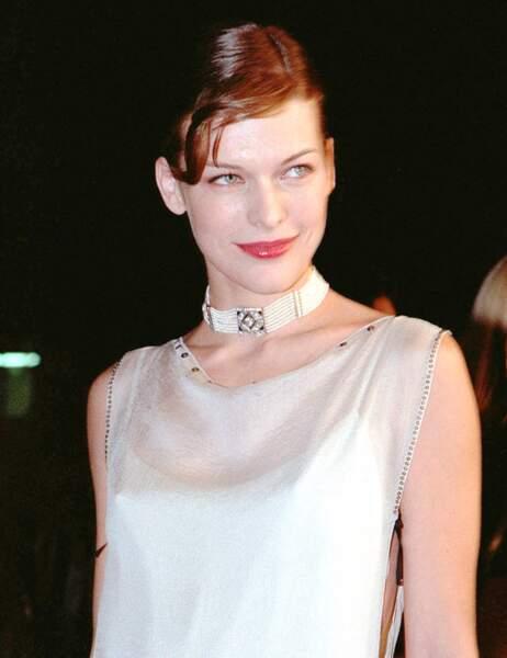 Milla Jovovich en 1999