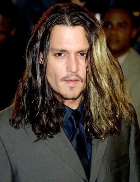 Johnny Depp en août 2001