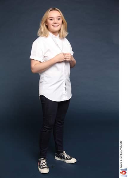 Alexia Duchêne / 23 ans / Paris / Second de cuisine chez Passerini
