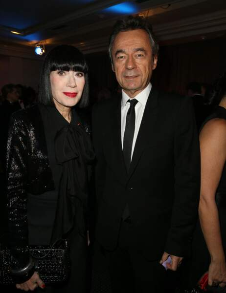 Chantal Thomass et Michel Denisot