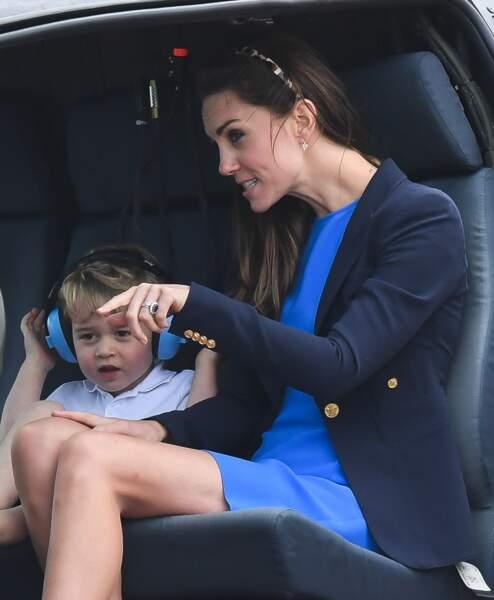 Kate lui a même expliqué des trucs !