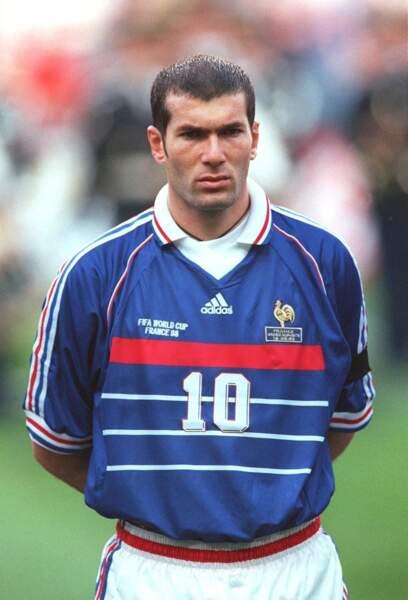Zinédine Zidane en 1998 (26 ans)
