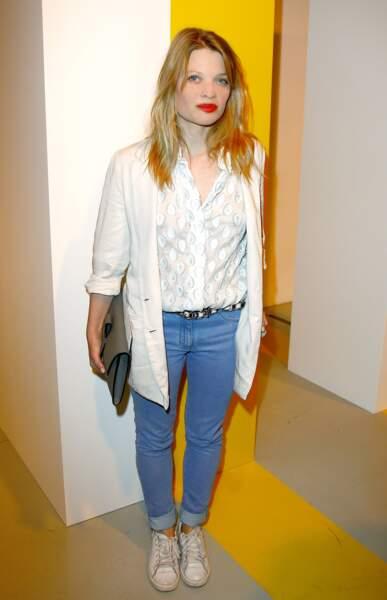 Mélanie Thierry en tenue casual