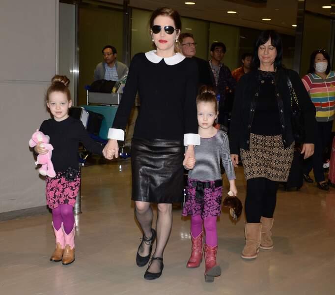 Harper et Finley, 8 ans aujourd'hui, ont été retirées de la garde de Lisa Marie Presley et Michael Lockwood