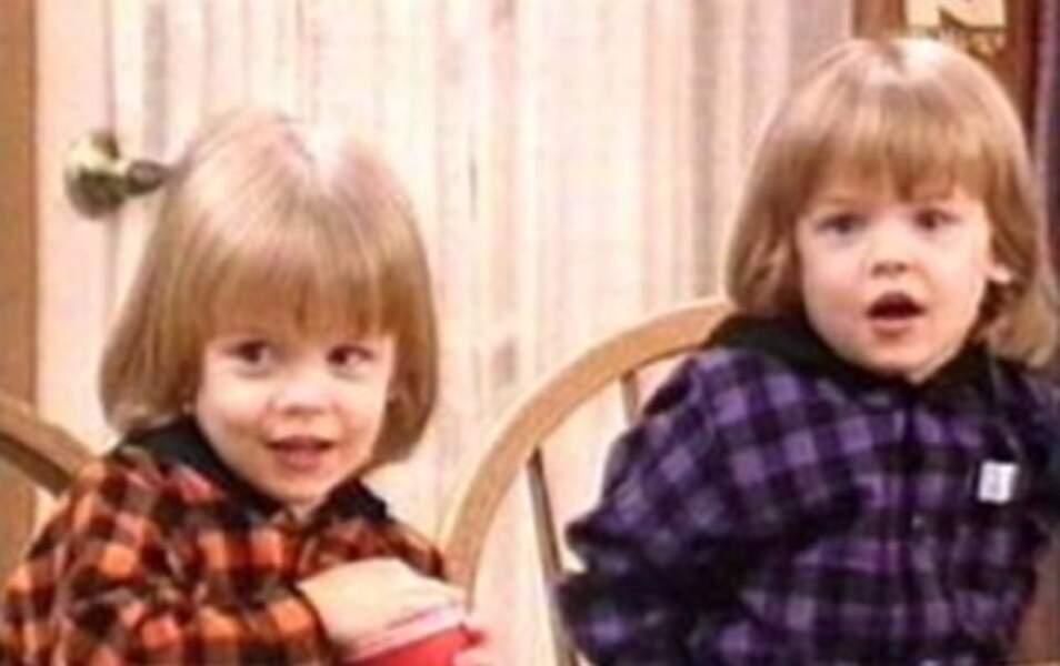 Nicki et Alex, les jumeaux de Jesse et Rebecca, sont...