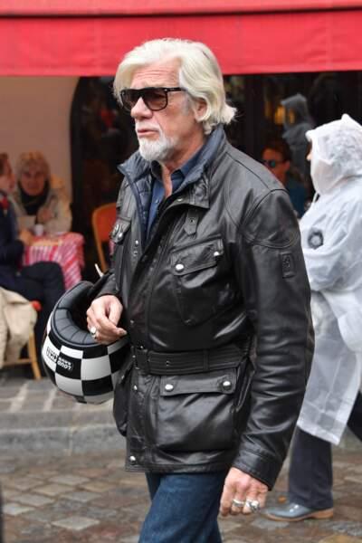 Pierre Billon aux obsèques de Dick Rivers à Paris