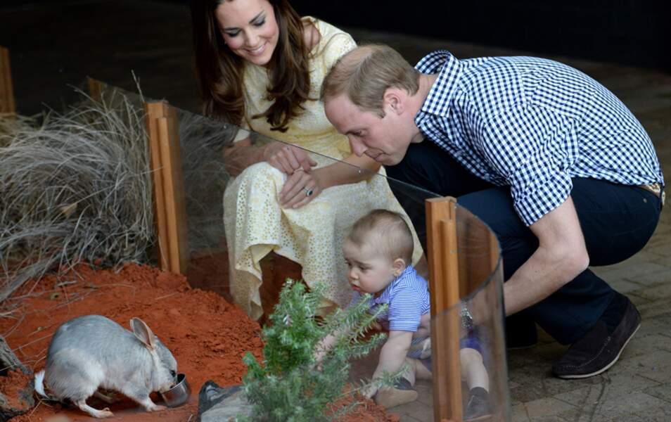 Il y a visité un zoo avec ses parents