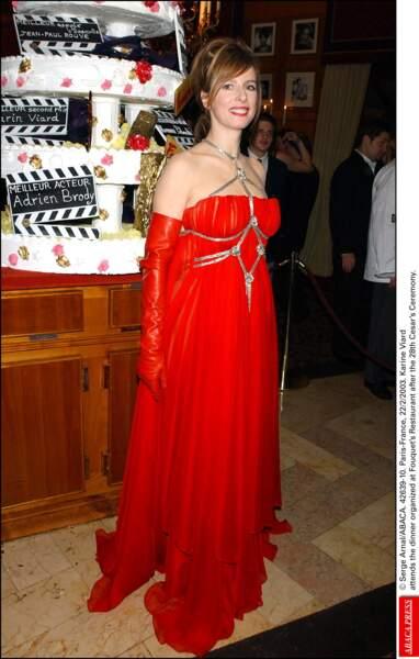 Karin (Viard), le bal du diable, sur les écrans en 2003