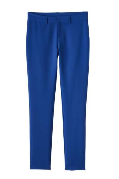 Heidi Klum x Lidl : pantalon de costume bleu