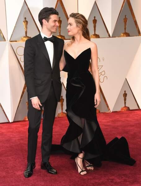 Les plus beaux couples des Oscars 2017 : Alex Greenwald et Brie Larson