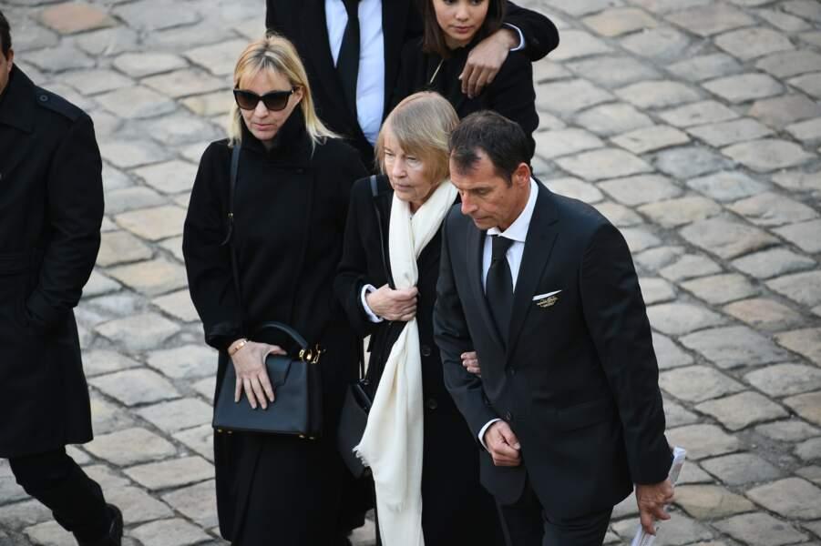 Ulla Thorsell, la veuve de Charles Aznavour, à l'hommage national aux Invalides