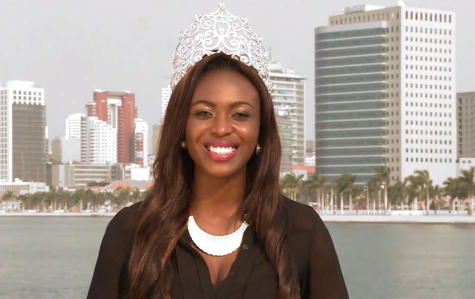 Miss Angola Maria Castelo, 23 ans, 1m71