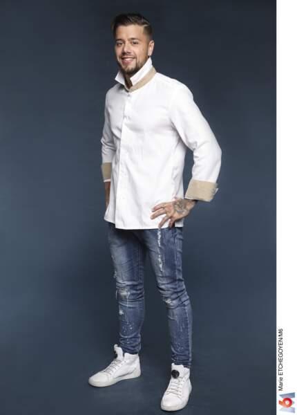Florian Barbarot / 27 ans / Les Damps (27) / Chef adjoint à L'auberge de la pomme